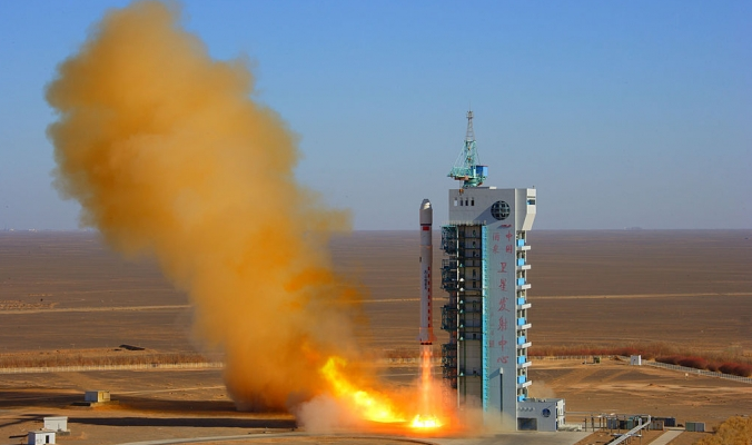 China Launches Hack-Proof Communications Satellite