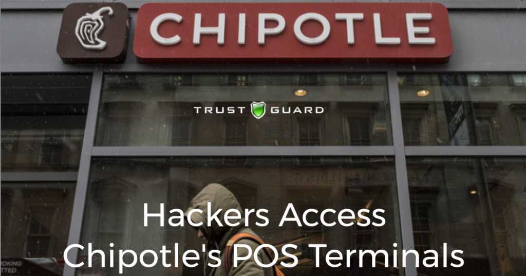 Chipotle Hackers POS Terminals