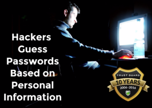 Hackers Guess Passwords Too Easily