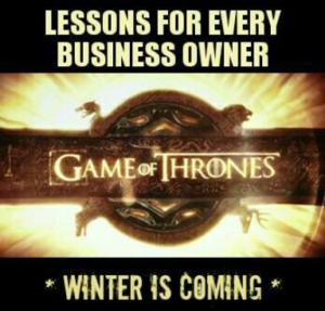 4 Business Lessons from the Game of Thrones