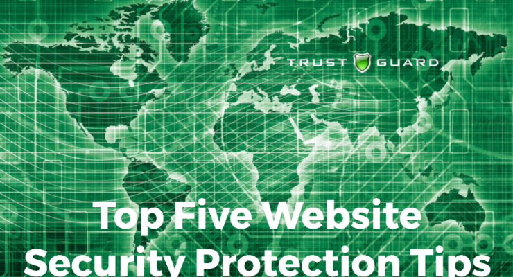 Top Five Website Security Protection Issues